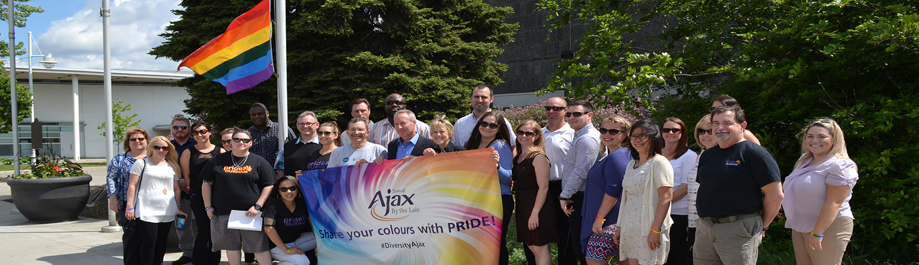 Celebrating Pride in Ajax