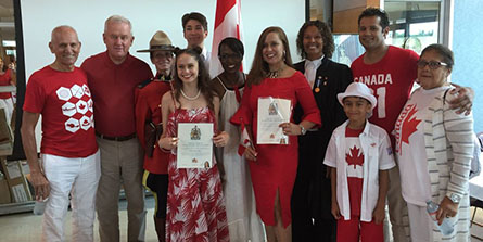 Town of Whitby's EDAC celebrates Canada Day with a Citizenship Ceremony